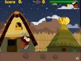 Помогите Викингу совершить путешествие по таинственному древнему миру. На его пути будут попадаться римские воины и кабаны, но в вашем арсенале есть меч, которым древние викинги очень хорошо владели.