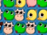 Эта красочная головоломка проверит Вашу внимательность и сообразительность. Ваша задача убрать как можно больше фигурок с игрового поля. Для этого кликайте по группам одинаковых фигурок мышкой.
