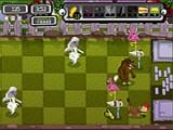 Отличная оборонительная игра в стиле зомби против растений. На этот раз Вы должны защитить свою лужайку от призраков, оборотней, вампиров, зомби и прочей нечисти. Находите наилучшие комбинации защитных предметов против каждого типа монстров!