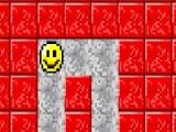 Управляя маленьким смайликом в этом лабиринте, Вам предстоит передвигать блоки так, что бы раздавить вылезшего из норы крокодила.