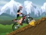 В этой игре Вам предстоит совершить одиночный заезд на спортивном мотоцикле по горной местности. От времени потраченного на преодоление пути зависит приз, который вы получите. Спешите, но будьте бдительны. Горная дорога очень коварна.