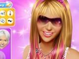 В этой игре вас есть возможность проявить свой талант стилиста и визажиста. Майли Сайрус, известная по сериалу Ханна Монтана снова ждёт вашей помощи. Вы должны подобрать ей идеальную причёску и макияж.