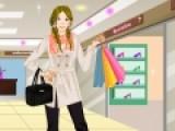 Для девочек поход по магазинам приравнивается к празднику. Сыграй в игру, в которой тебе придется отправиться в магазин с девушкой, что бы подобрать новую одежду. Примеряй несколько вариантов, что бы выбрать самый лучший образ.