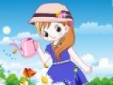 В этой игре Вы будете подбирать одежду для маленько садовнице. Что бы она стала похожа на маленький цветочек в солнечном саду.