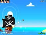 Используйте несколько типов ядер для пушки и уничтожайте всех пиратов на уровнях. Выбирайте угол и силу выстрела и отправляйте смертоносный снаряд в сторону своих врагов под звуки веселых пиратских песен и крики попугая!