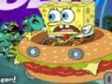 Спанч Боб так любит гамбургеры, что даже автомобиль купил похожий на это блюдо. Помоги Губке Бобу обогнать всех соперников на подводной трассе и первым добраться до своего друга Патрика.