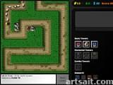 Цель игры - убить монстров до того как они доберутся до конца лабиринта, используя для этого постройку башен вокруг лабиринта на возвышениях. Очень рекомендуем!