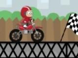 На спортивном мотоцикле Вам придется преодолеть очень сложную трассу за ограниченный промежуток времени. Что бы управлять байком, используйте стрелки и пробел.
