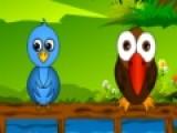 Птицы так любят полакомиться вкусными фруктами. Постарайся обслужить каждую птичку угостив ее именно тем фруктом который она хочет.Сделай это как можно быстрее пока она не обиделась и не улетела в другое кафе.