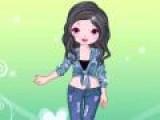 Если ваш любимый стиль джинсовый, то вам очень понравится эта игра. У девушке в гардеробе огромный выбор джинсовой одежды, что сама она не может выбрать что лучше! Оденьте ее как можно стильнее и красивее!