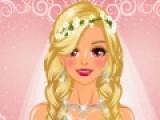 Многих девушек приготовления к свадьбе заставляют паниковать. Помогите нашей невесте сделать хороший макияж и выглядеть в этот день сногсшибательно.