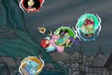 В этой игре Вы можете выбрать одну из пяти Чародеек, представляющих различные стихийные школы магии и потренироваться в использовании их магических способностей!