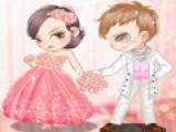 Все девушке мечтают о красивой свадьбе и шикарном Свадебном платье. Целью игры Розовые Свадебные Одевалки является задача одеть максимально красиво пару готовящуюся стать мужем и женой. Не омрачите их светлый праздник. Нарядите их как можно красивее!