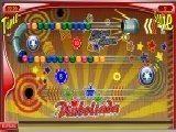 Красочный гибрид двух игр: пинбола и зумы.