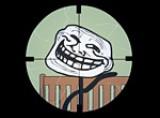 Отличная онлайн игра для любителей прицельной стрельбы. Цели игры Наемный Снайпер убить максимально количество троллей. Управление игры Снайпер очень простое. При помощи пробела и левой кнопки мыши можно отлично развлечься. Игра Наемный снайпер: день троля отлично развеселит Вас. К тому же онлайн  игра Снайпер не требует регистрации.