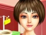 Эта игра подойдет для девочек, которые любят одевалки и яркий макияж. Цель игры подобрать прическу и макияж для девушки, которая отправляется на встречу.