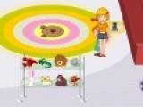 Перед Вами прикольная игра про обслуживание в магазине игрушек. Ваша задача обслужить всех посетителей, что бы они остались довольными. Что бы играть, используйте свою мышь.