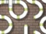 Постарайтесь сложить кусочки труб как пазл, что бы получить настоящий трубопровод. В этой игре не обязательно использовать все куски трубы, что бы построить трубопровод.