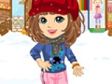 В этой игре Вам придется подобрать одежду и макияж девушке, которая собралась на прогулку солнечным зимним днем. Возможно она даже встретит свою судьбу. Потому одежда должна сидеть идеально.