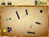 Ёжик Соник решил поиграть в зуму и обзавелся собственной пушкой, стреляющей цветными шариками. В отличие от других игр этого жанра, здесь существуют препятствия - каменные стены, сквозь которые шары не могут пролететь.