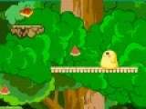 Эта увлекательная игра о том, что храбрый цыпленок собирает еду. На его пути встречается очень много опасностей, но приключение цыпленка от этого становится только интереснее. Помогите ему преодолеть весь путь. Передвигается птенчик при помощи стрелочек на клавиатуре. что бы кинуть острую звездочку во врага, нажимайте на пробел. Но помните, что количество оружия у Вас ограничено. Вы сможете его найти путешествуя вместе с цыпленком.