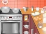 Приготовь вкусное печенье в интересной игре для девочек про кулинарию. Пользуйся подсказками, что бы не перепутать ингредиенты, и тогда твое печенье получится вкусным и красивым.