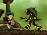 Спаси принцессу из кровожадных лап монстров в увлекательной бродилке. Драки и увлекательные приключения ждут тебя на протяжении всей игры. Управляй героем при помощи стрелок. Кнопка S отвечает за прыжок, а A - за удар мечем.