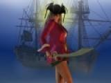 Перед вами еще одна игра одевалка, в которой Вы сможете проявить свои дизайнерские фантазии и подобрать наряд для девушки пирата.