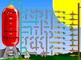 Нужно создать правильный трубопровод, чтобы наполнить шарики воздухом!
