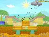 Новые уровни знаменитой игры Cover Orange ждут Вас! Спасите фрукты от посягательств зловредной тучи, смастерив укрытие от града из разнообразных игровых объектов!