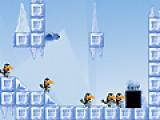 Помоги птицам выбраться из ледяного заточения. В нижней части игрового поля указаны действия, которые птицы могут выполнять на данном уровне. Выбери действие при помощи мыши, затем кликни на птицу которая должна выполнять это действие.