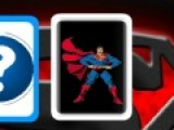 Перед вами перевернутые карты. Открывая поочередно их запоминай в какой позе находится супермен. Постарайся найти все одинаковые карты.