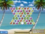 Очень красивая игра по типу тетриса или шариков. Вы должны выстраивать группы из тропических фруктов.