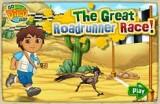 В этой игре Диего должен помочь Калифорнийской Бегающей кукушке первой добраться до финиша, преодолев множество препятствий на трассе! В игре несколько усложняющихся уровней.