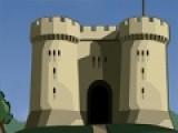 В этой игре Вам предстоит защитить гору, на которой стоит Ваша крепость от вражеской артиллерии. Используйте для этого пушки Вашего замка. При помощи мыши выберите угол и силу с которой полетит Ваш снаряд. И постарайтесь не промахнуться.