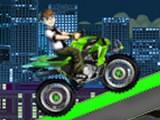 В этой игре вам необходимо проехать все трассы на мотоцикле вместе с Беном Теннисоном и собрать все часики Омнетрикс и сделать это будет довольно не просто!