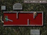 Вполне обычный мини гольф на 18 лунок, но оформлен под кладбище и вместо клюшки — кости. Играть могут до 4 человек.