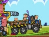 В этой игре вы станете Водителем грузовика. Когда его кузов заполнится постарайтесь перевезти груз в пункт назначения с минимальными потерями. Для этого Вам понадобится ни малая водительская ловкость ведь на пути Вас ожидает очень не ровная дорога