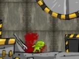 Вы - зеленый человечек, который должен захватить весь звездолет. На пути Вам истратится множество врагов. Убейте их не раздумывая. Что бы управлять человеком, используйте стрелки. Левая кнопка мыши отвечает за атаку. Если у вас появится оружие менять его вы сможете при помощи кнопки Е.