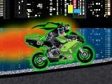 Современному ниндзя мало его неразлучной катаны. Теперь он пользуется такими средствами передвижения как - спортивный мотоцикл. Оседлай мощный байк и помоги герою этой игры выполнить его миссию!
