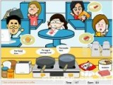 Флеш игра, в которой Вам необходимо накормить офисных работников прямо за их рабочими местами.