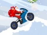 Эта новогодняя игра рассказывает о том, как однажды Санта Клаус решил поменять своих северных оленей на модный байк. Не так то просто управлять мотоциклом на заснеженных склонах. Тебе предстоит проявить максимальную ловкость, что бы помочь Санте преодолеть путь и не перевернуться на своем новом байке.