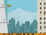 В этой забавной игре Вы будете управлять летающим автобусом и перевозить пассажиров с этажа на этаж. Между миссиями доступны улучшения автобуса и покупка новых моделей.