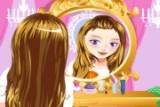 Девушка - студентка должна выглядеть на все 100 на вечере и единственная ее надежда это - Вы! Подберите ей макияж и украшения. Все изменения отслеживайте в зеркале!