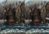 Мы листаем мрачный комикс про историю одного маленького зомби, одновременно находим 5 отличий на, казалось бы, одинаковых картинках.