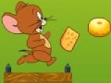 Любимый герой детей мышонок Джери опять в погоне за едой. Твоя задача помочь ему в этом деле. Помогай Джери собирать сыр и перепрыгивать через пропасти. Используй для этого пробел или стрелочку вверх. Что бы подпрыгнуть очень высоко, нажимай несколько раз пробел или стрклочку вверх.