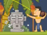 В этой отличной физической игре Вам нужно помочь ацтекскому племени. Их божества заточены в каменных тотемах, расположенных по всему острову. Помоги индейцам добросить до тотема кокос и пробудить древних богов ото сна!