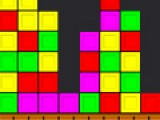 Для того что бы пройти уровень постарайтесь убрать как можно больше кубиков с игрового поля. Для этого щелкайте по кубикам одного цвета если их находится рядом больше двух.