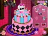 Очень яркая и интересная игра для девочек, которым нравится все украшать. Цель игры украсить сказочный торт с монстрами. Чем больше сладкой паутины тем лучше.