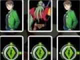 Это карточная игра проверит вашу зрительную память. Вам необходимо поочередно открывать карты с изображениями Бена 10 и монстров. Если Вы откроете две одинаковые карты, они останутся в перевернутом положении. Ваша задача перевернуть все карты. И помните о том, что время у вас ограничено.